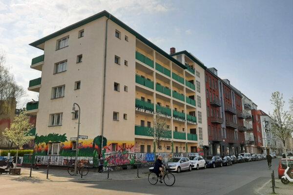 Haus in der Wrangelstraße 23